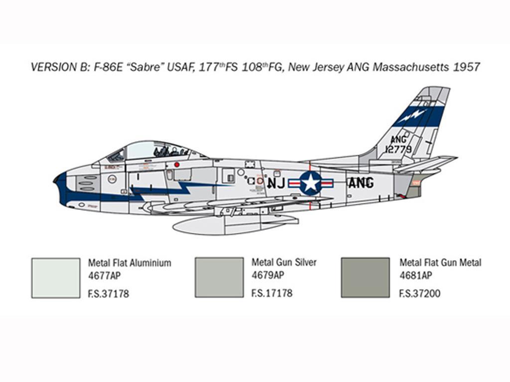 F-86E Sabre (Vista 5)