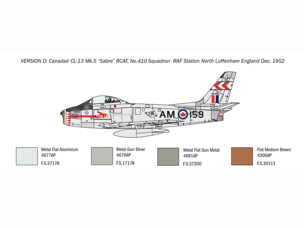 F-86E Sabre (Vista 6)