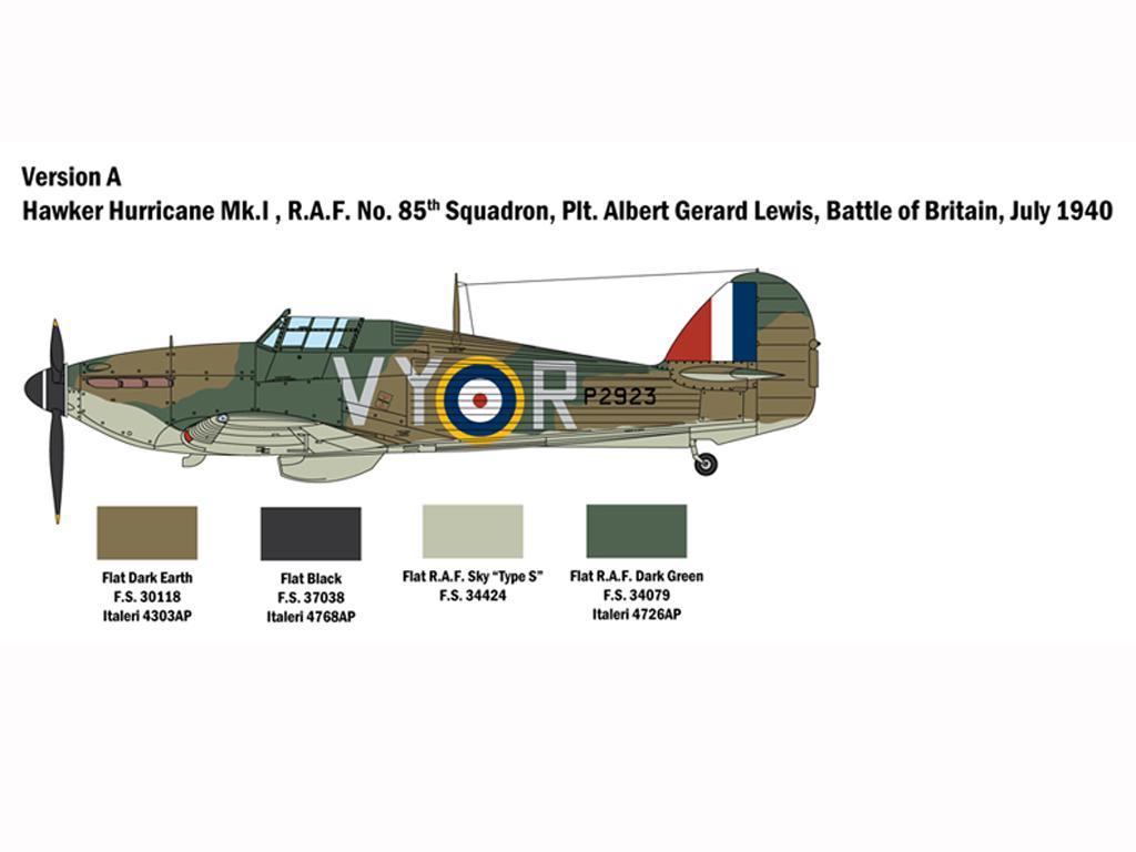 Hurricane Mk.I Battle of Britain (Vista 4)