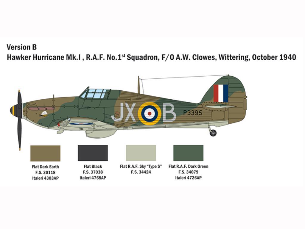 Hurricane Mk.I Battle of Britain (Vista 5)