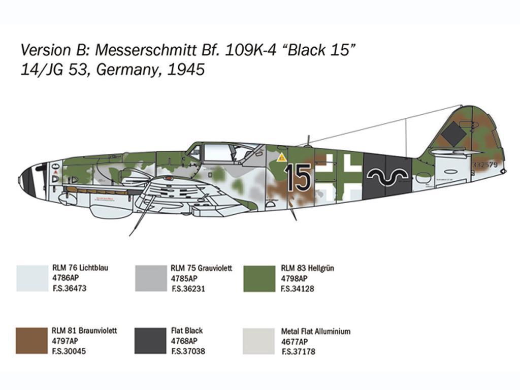 Bf 109 K-4 (Vista 5)