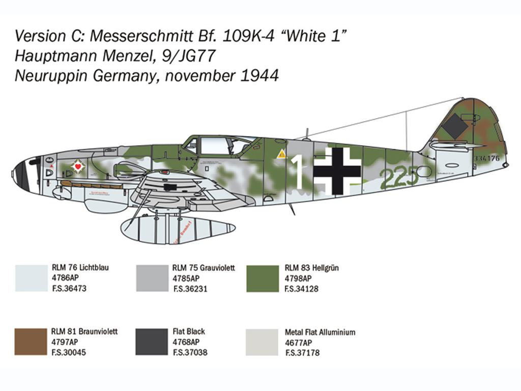 Bf 109 K-4 (Vista 6)