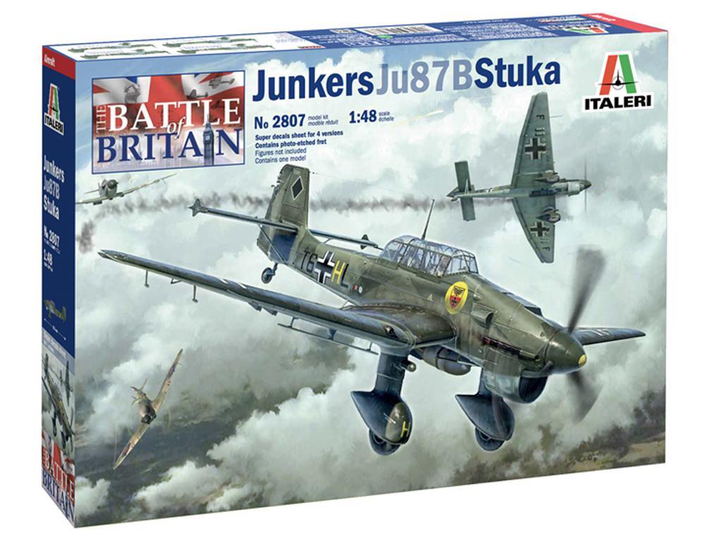 Junkers JU-87B Stuka (Vista 1)