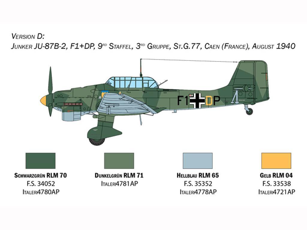 Junkers JU-87B Stuka (Vista 2)
