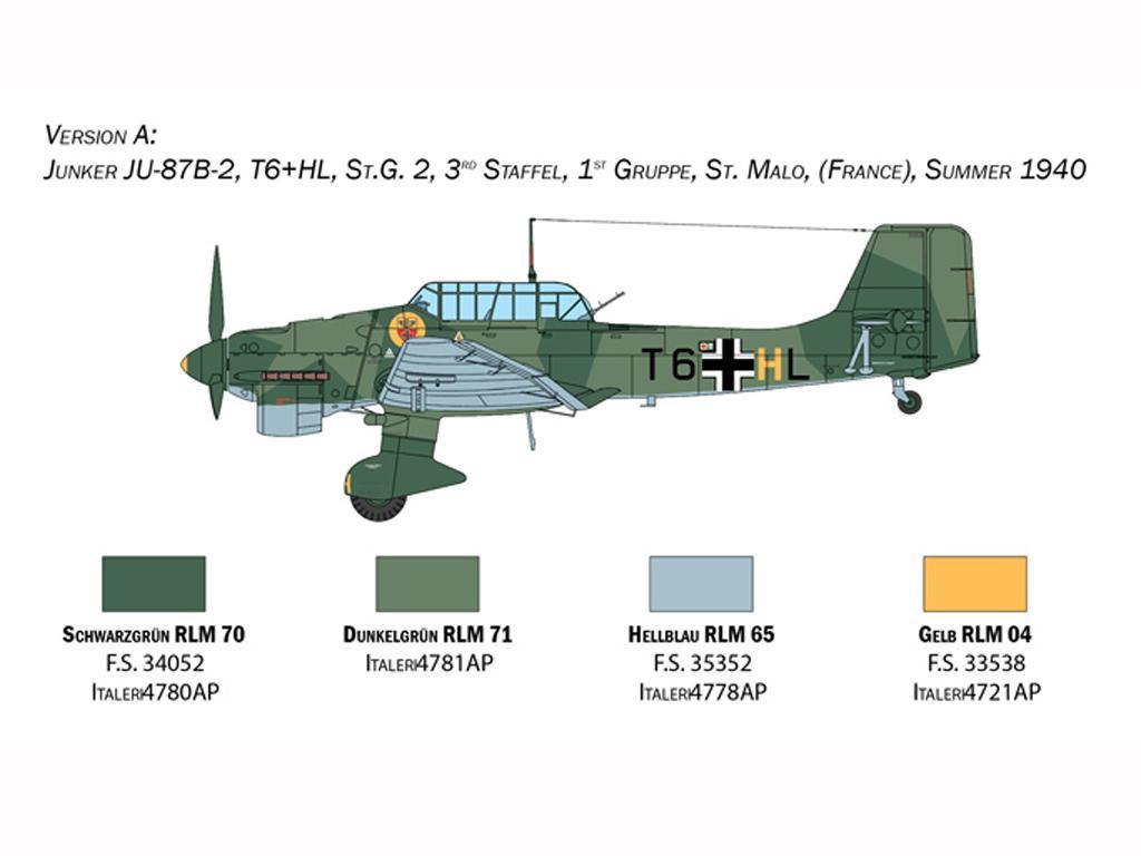 Junkers JU-87B Stuka (Vista 4)