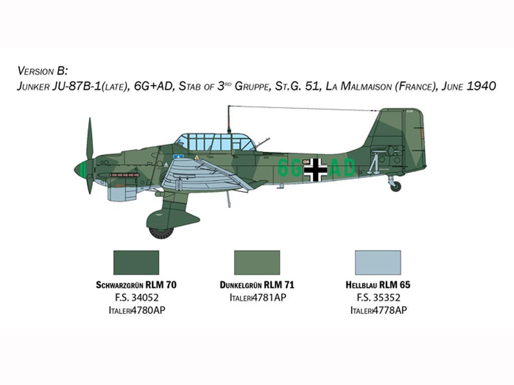 Junkers JU-87B Stuka (Vista 5)
