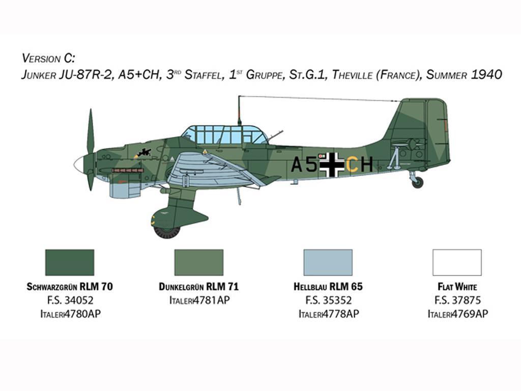 Junkers JU-87B Stuka (Vista 6)