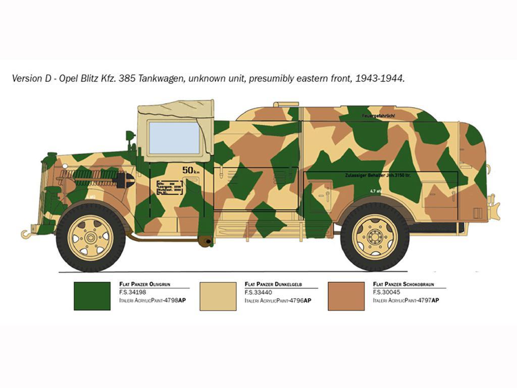 Opel Blitz Tankwagen Kfz.385 Battle of Britain (Vista 2)