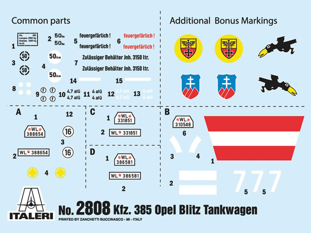 Opel Blitz Tankwagen Kfz.385 Battle of Britain (Vista 3)
