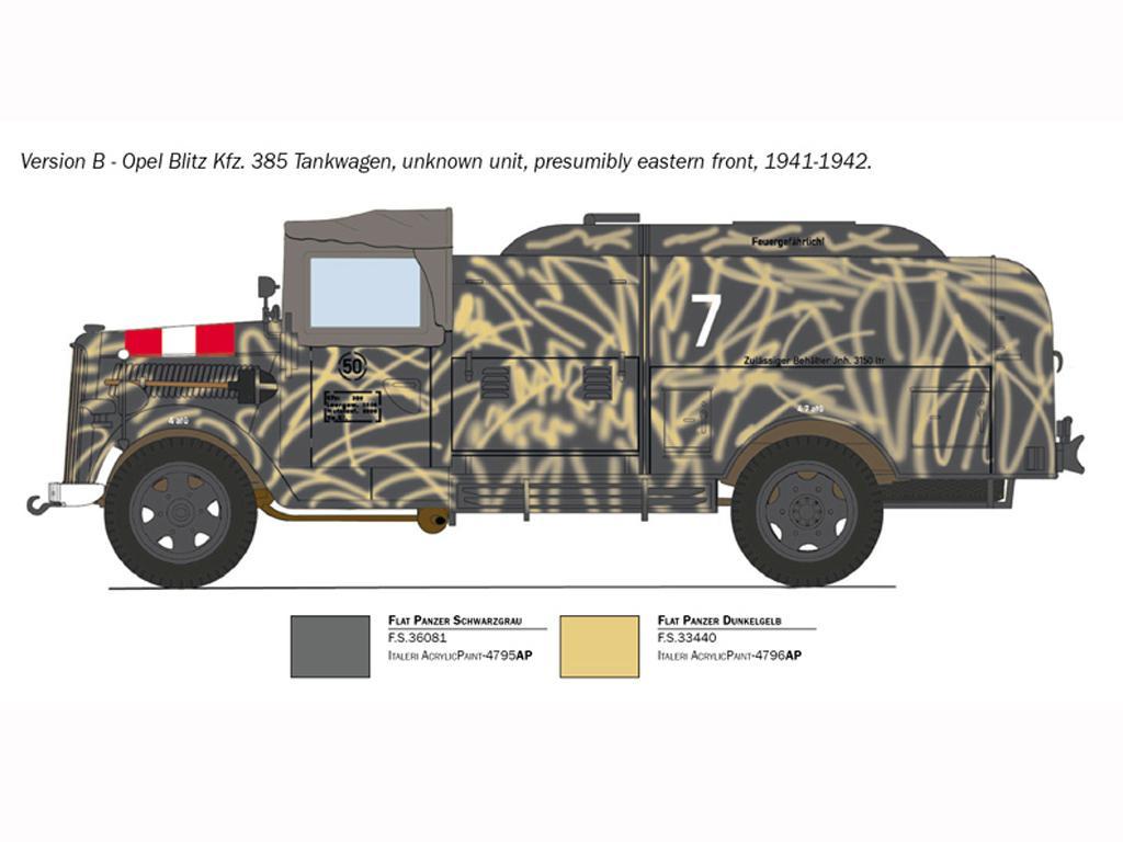 Opel Blitz Tankwagen Kfz.385 Battle of Britain (Vista 5)