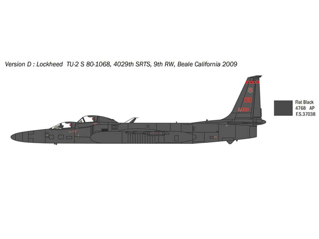 Lockheed TR-1A/B (Vista 2)