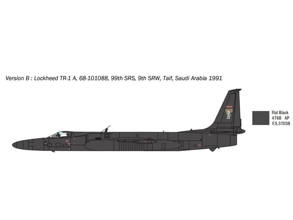 Lockheed TR-1A/B (Vista 5)