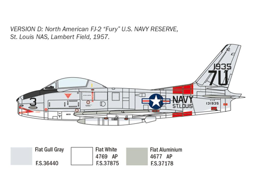 North American FJ-2/3 Fury (Vista 2)