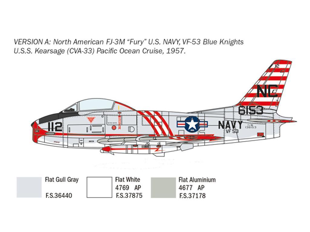 North American FJ-2/3 Fury (Vista 4)