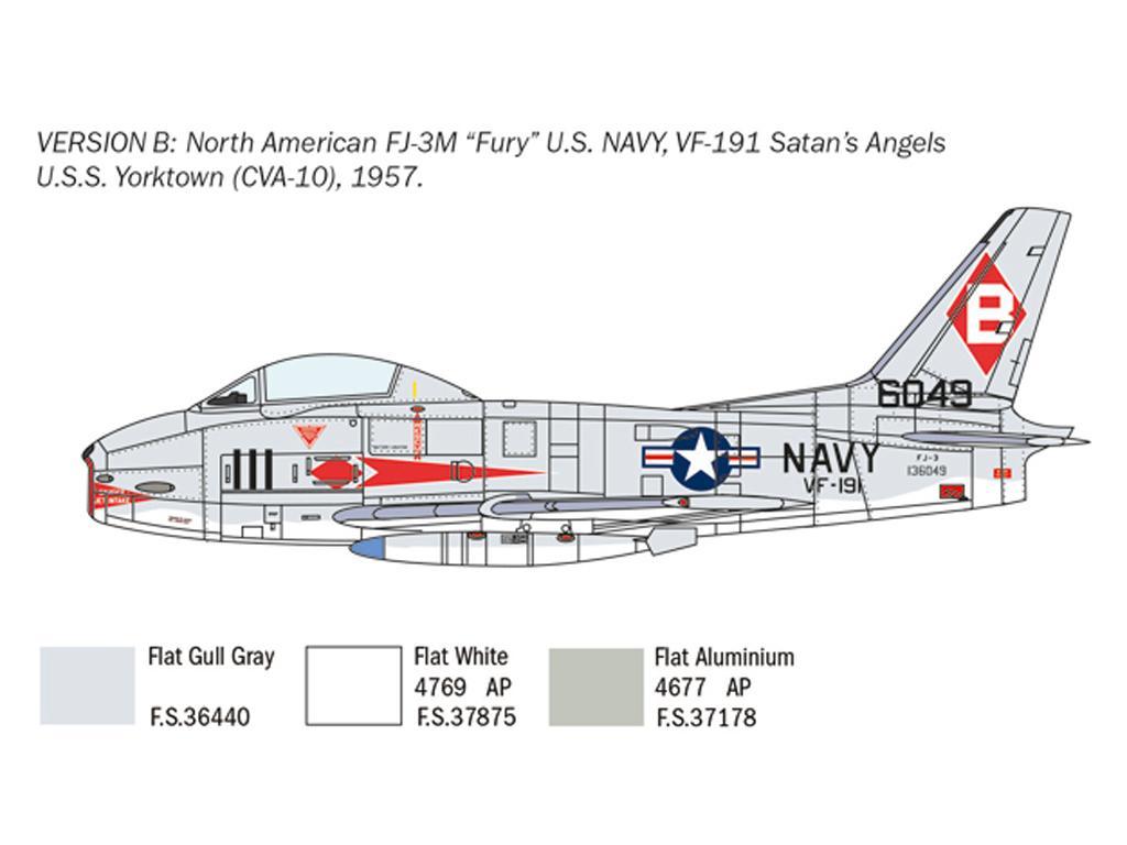 North American FJ-2/3 Fury (Vista 5)