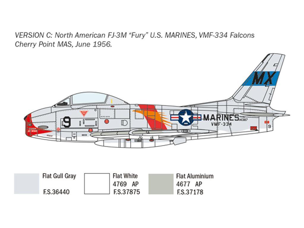 North American FJ-2/3 Fury (Vista 6)