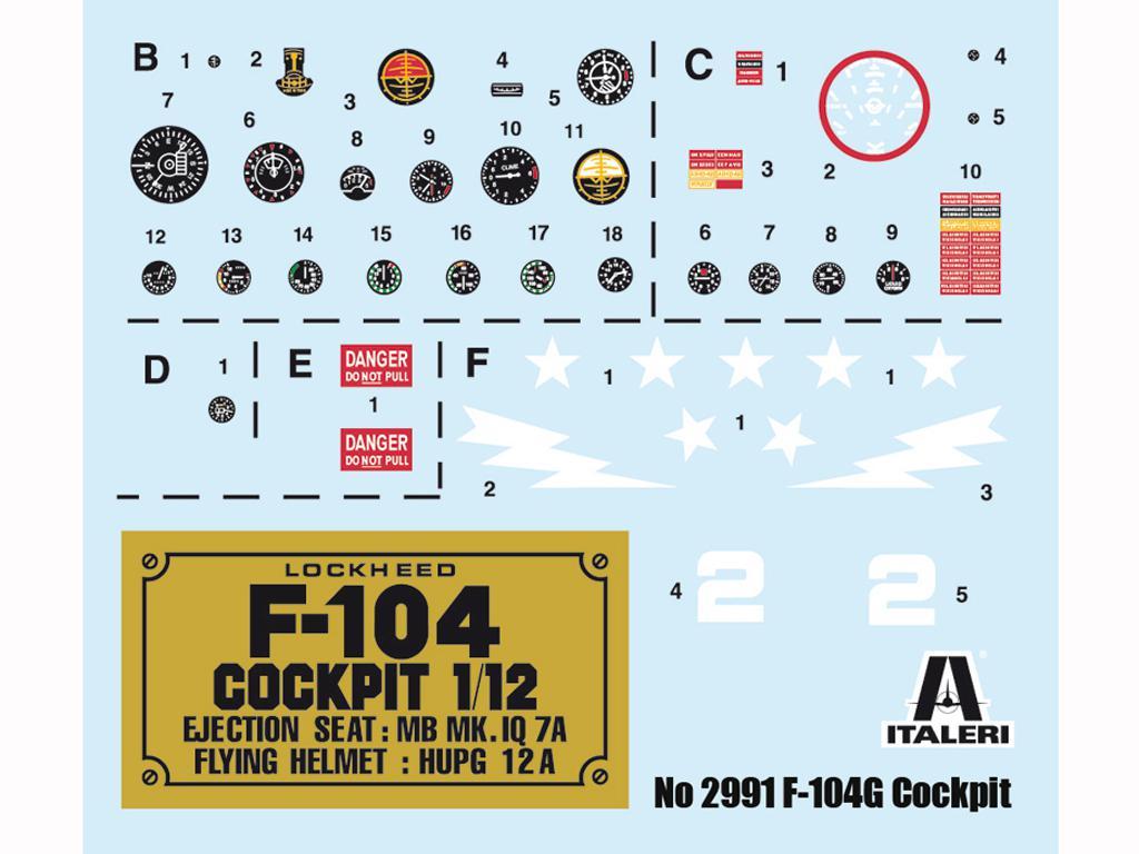F-104 G Cockpit (Vista 3)