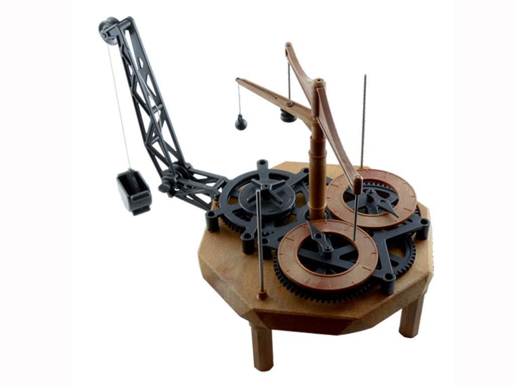 Reloj de Pendulo - Leonardo Da Vinci (Vista 2)