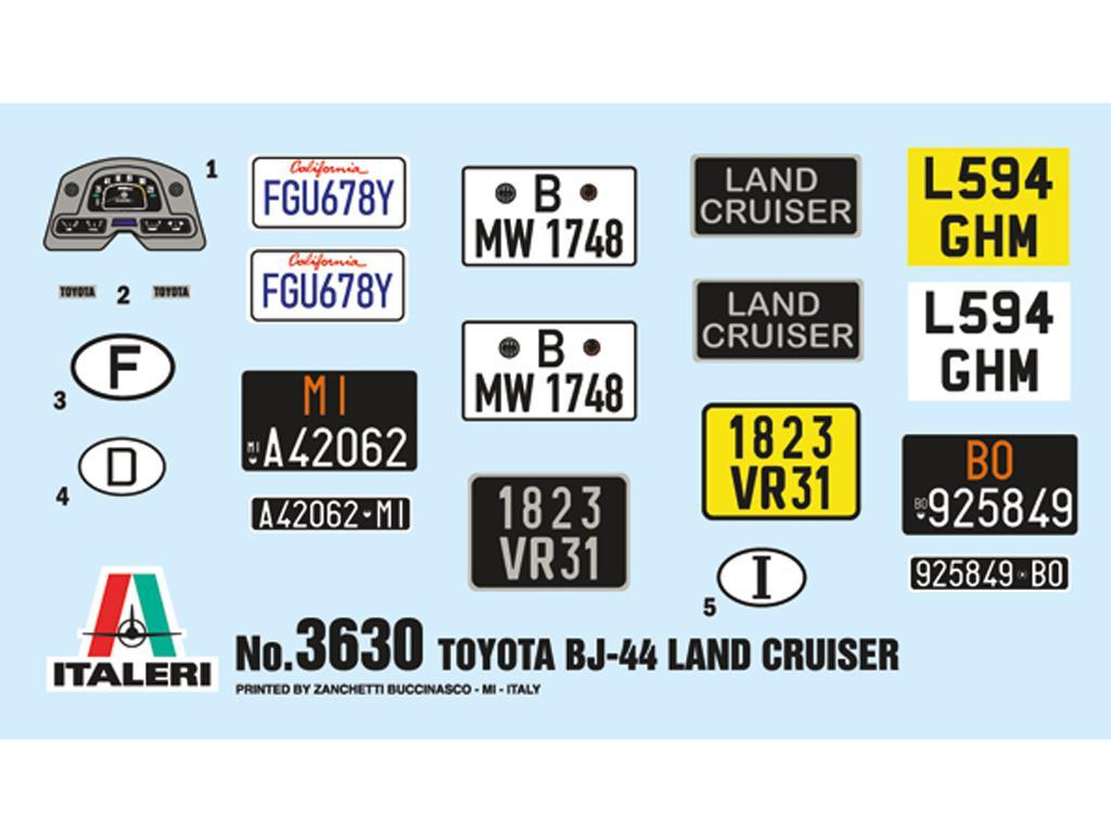 Toyota BJ44 Land Cruiser (Vista 3)