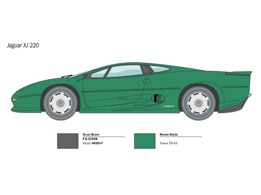 Jaguar XJ 220 (Vista 2)