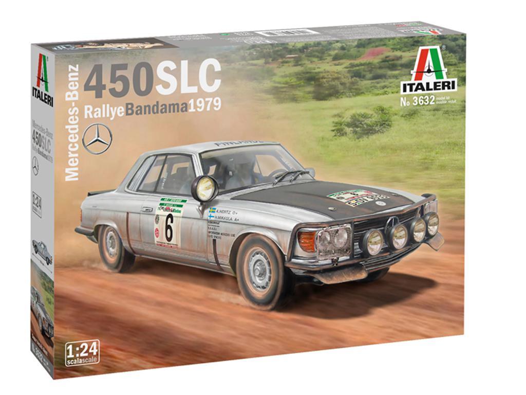 Mercedes-Benz 450SLC Rallye Bandama 1979 (Vista 1)