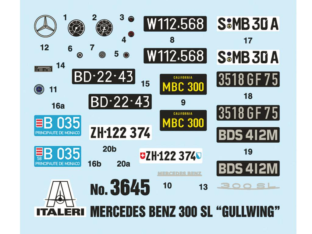 Mercedes Benz 300 SL Gullwing (Vista 4)