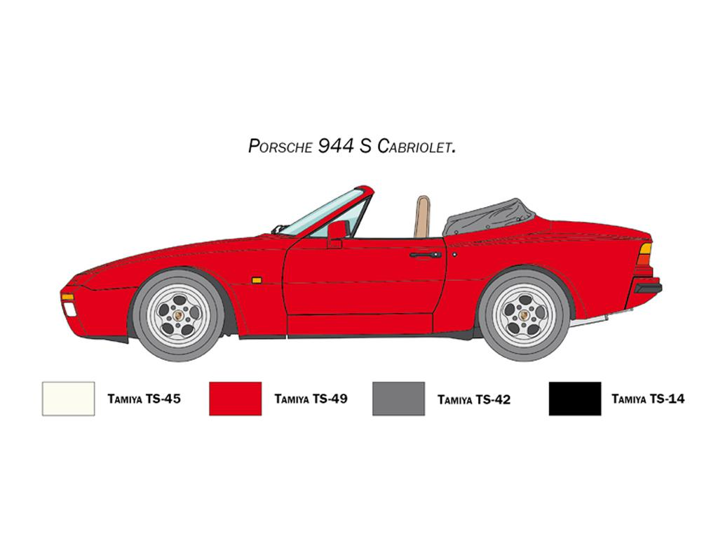 Porsche 944S Cabrio (Vista 3)