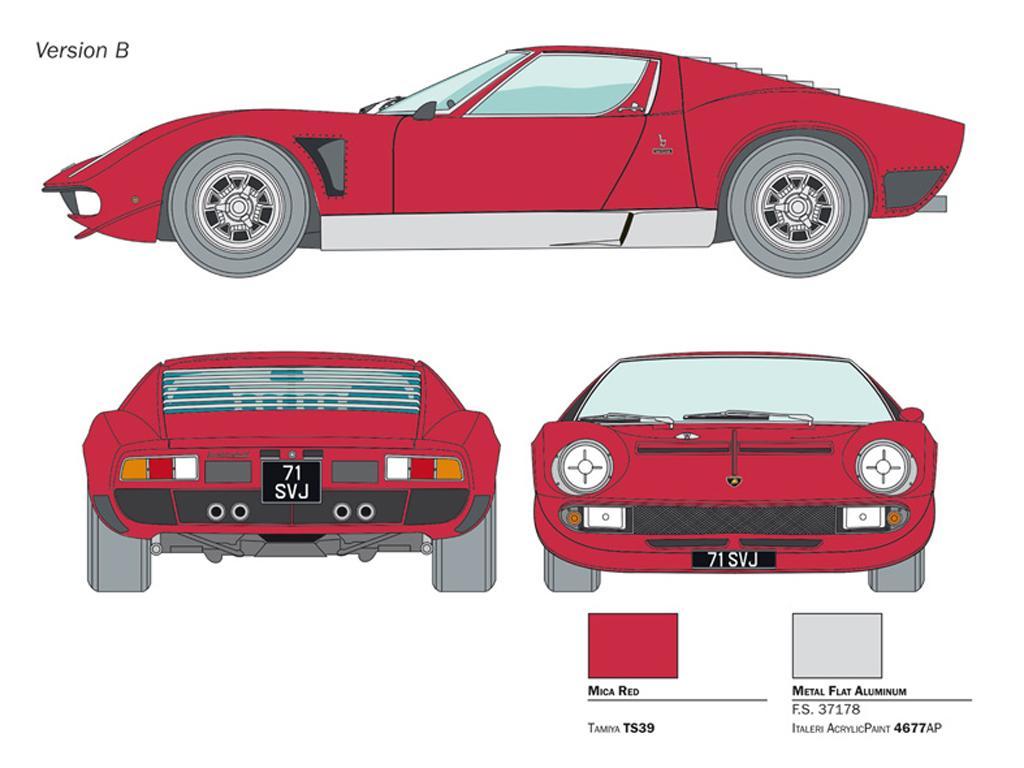Lamborghini Miura JOTA SVJ (Vista 2)