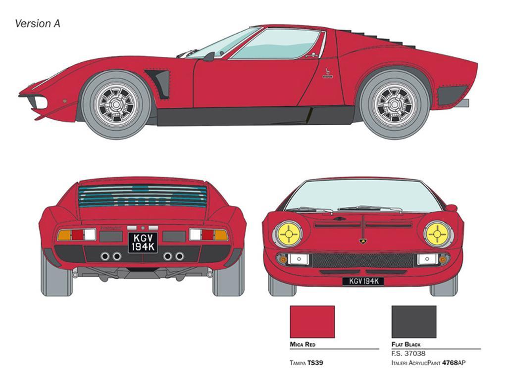 Lamborghini Miura JOTA SVJ (Vista 4)