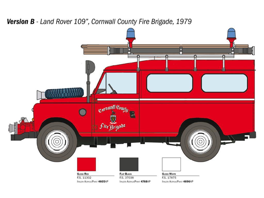 Land Rover Bomberos (Vista 2)