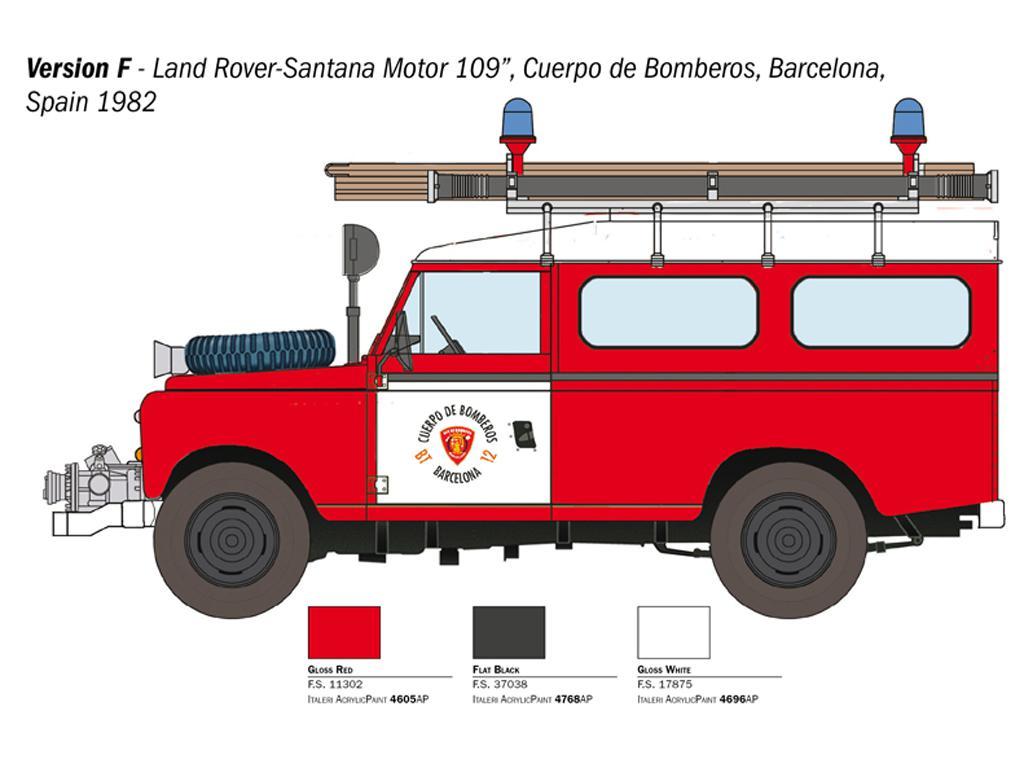 Land Rover Bomberos (Vista 3)