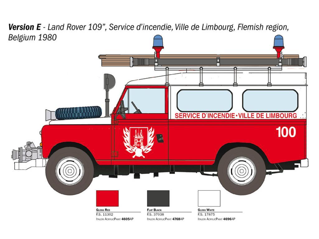 Land Rover Bomberos (Vista 4)