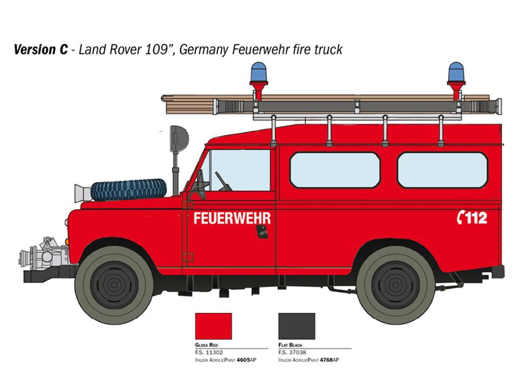 Land Rover Bomberos (Vista 6)