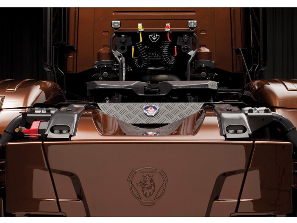 Scania R730 ''Black Amber'' (Vista 9)