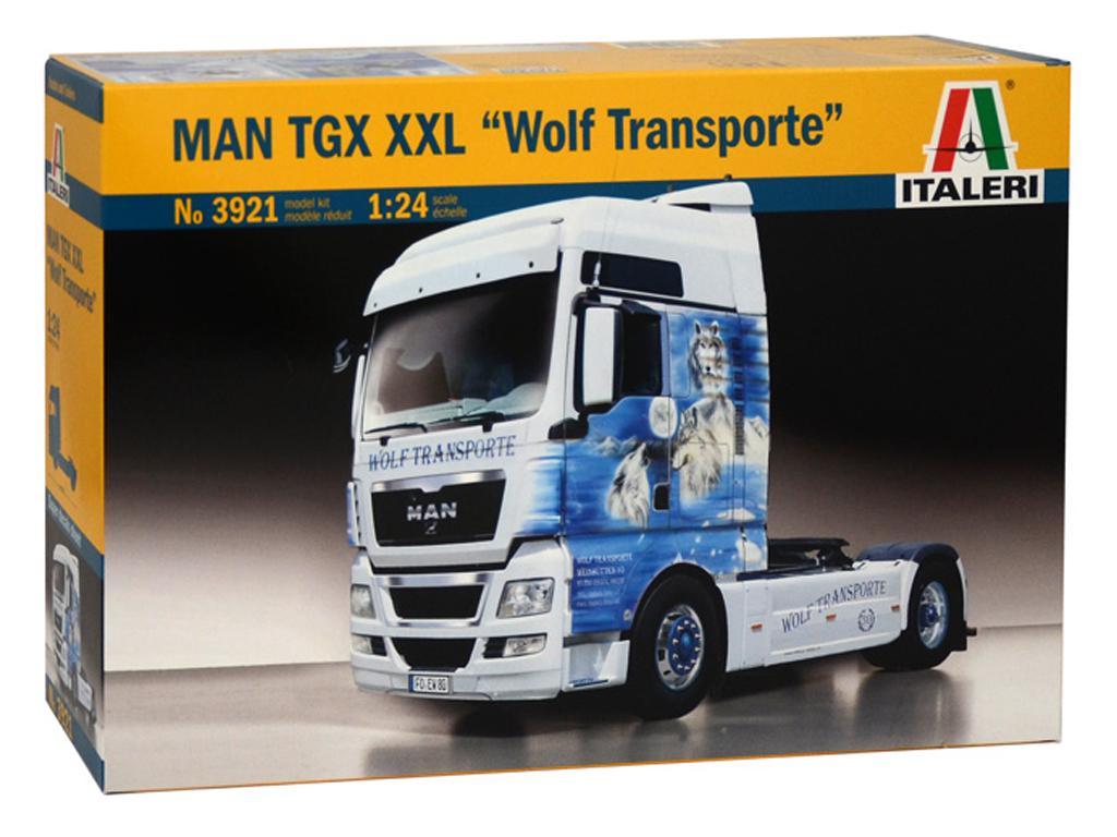 MAN TGX XXL Wolf Transport (Vista 1)
