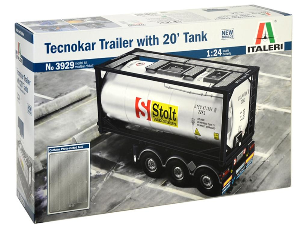 Tecnokar Trailer With 20' Tank (Vista 1)