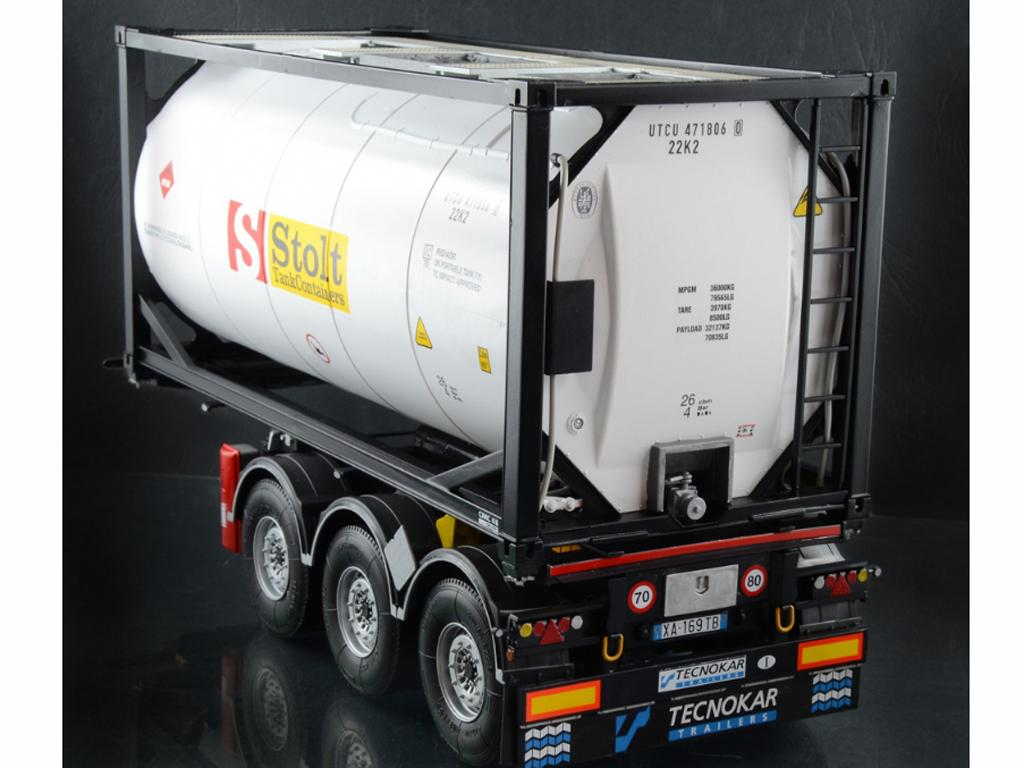 Tecnokar Trailer With 20' Tank (Vista 12)