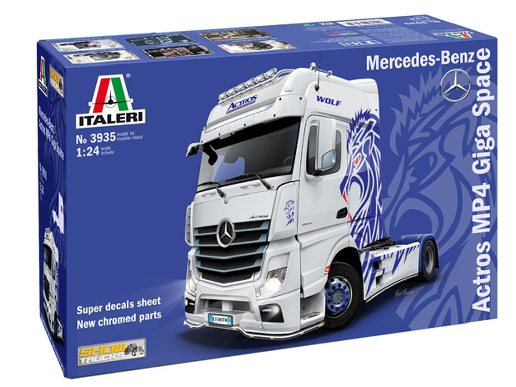 Mercedes-Benz ACTROS MP4 Giga Space (Vista 1)