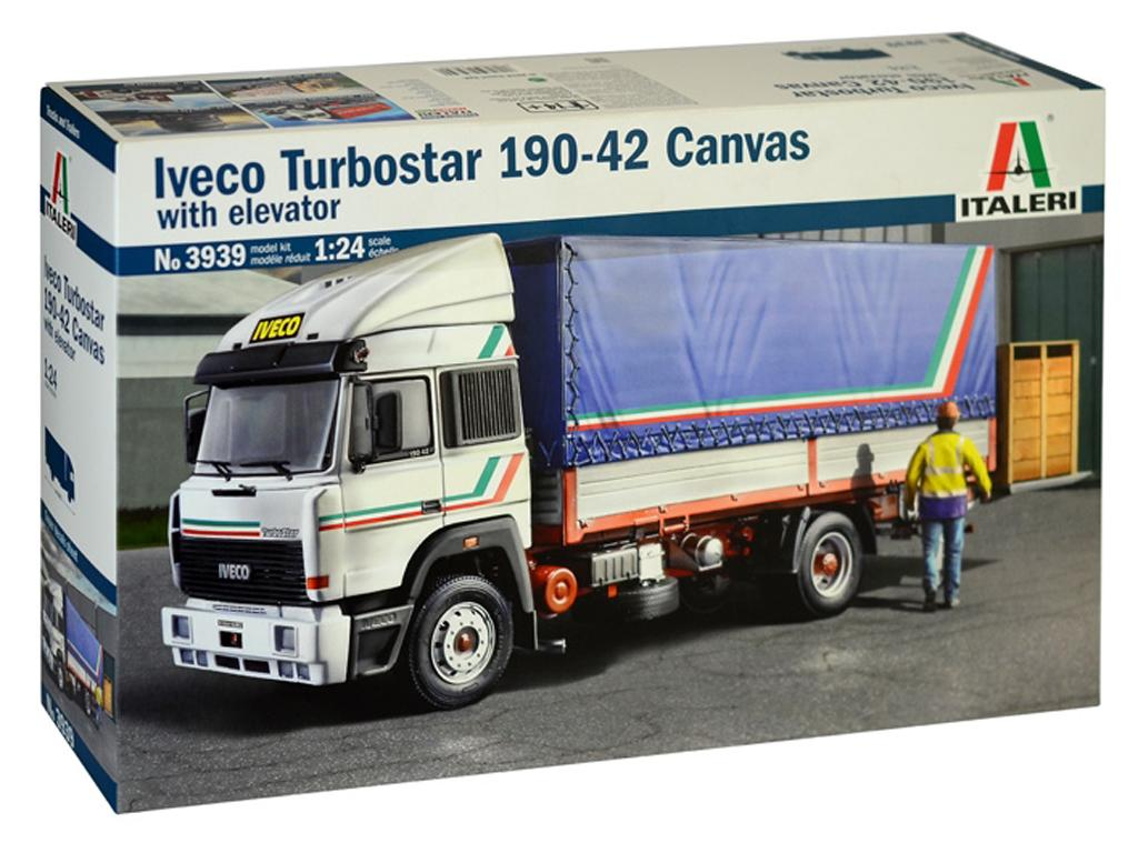 Iveco Turbostar 190-42 Canvas Whit Elevator (Vista 1)