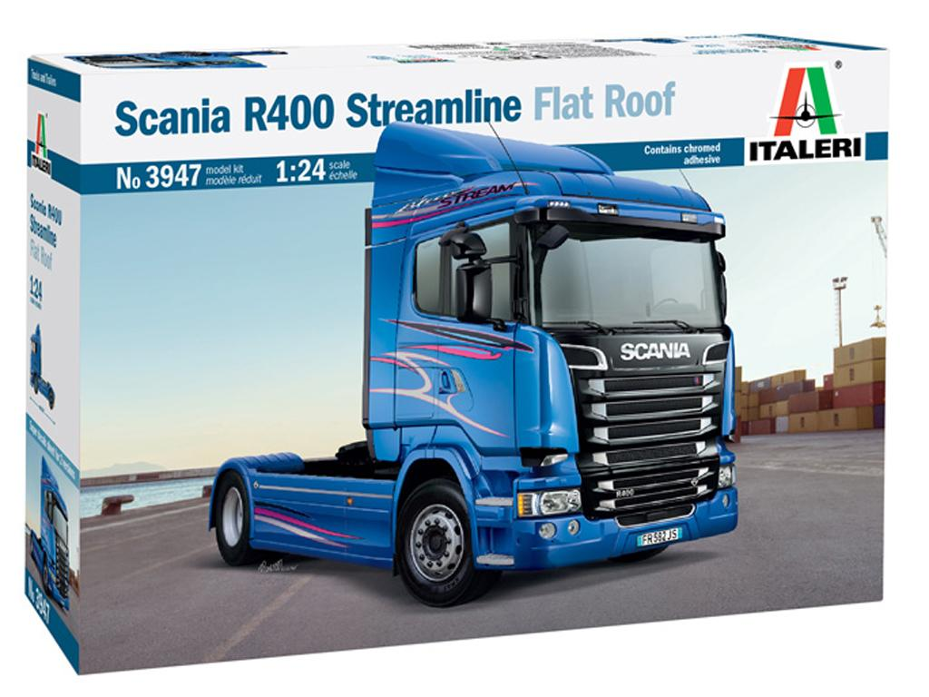 Scania R400 Streamline Flat Roof (Vista 1)