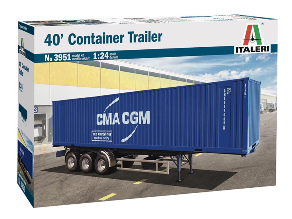 Contenedor de carga de 40 pies (Vista 1)