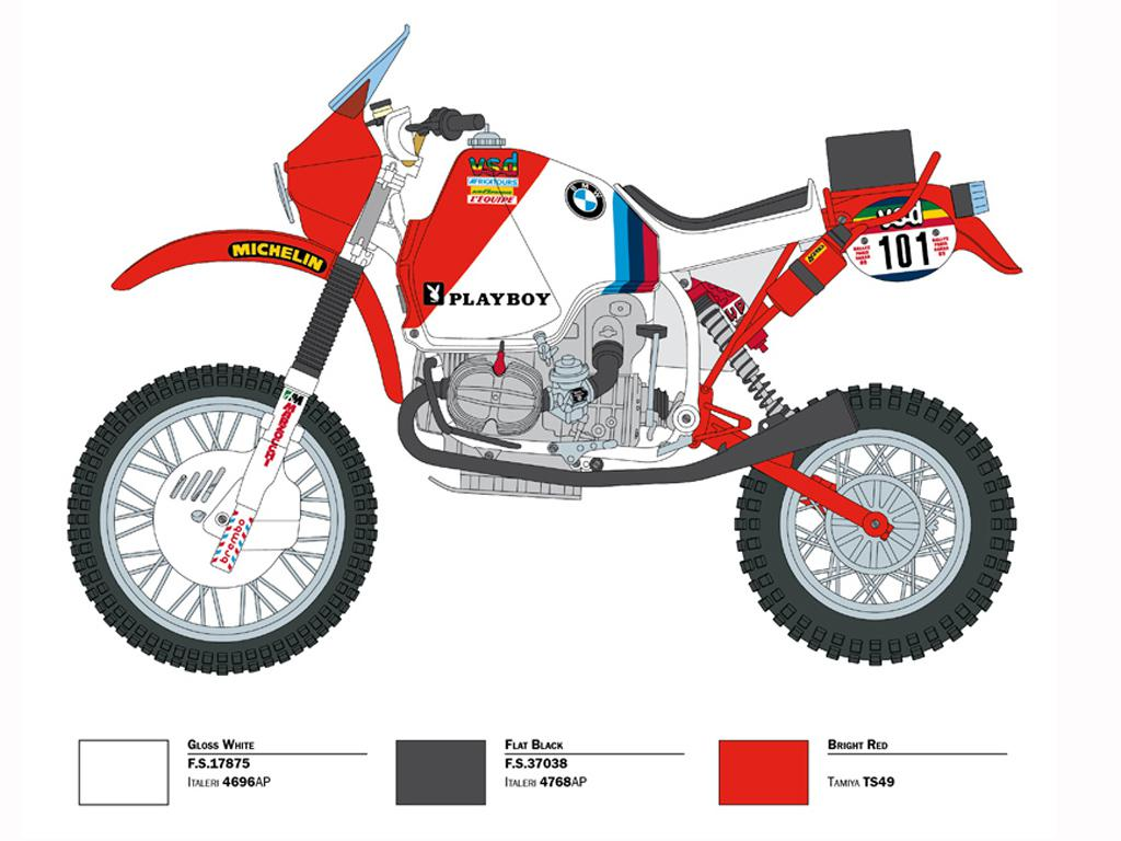 BMW R80G/S1000 Dakar 1985 Parigi-Dakar Version (Vista 2)