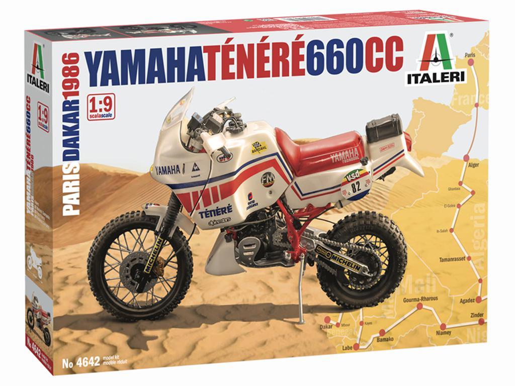 Yamaha Ténéré 660cc Paris Dakar 1986 (Vista 1)