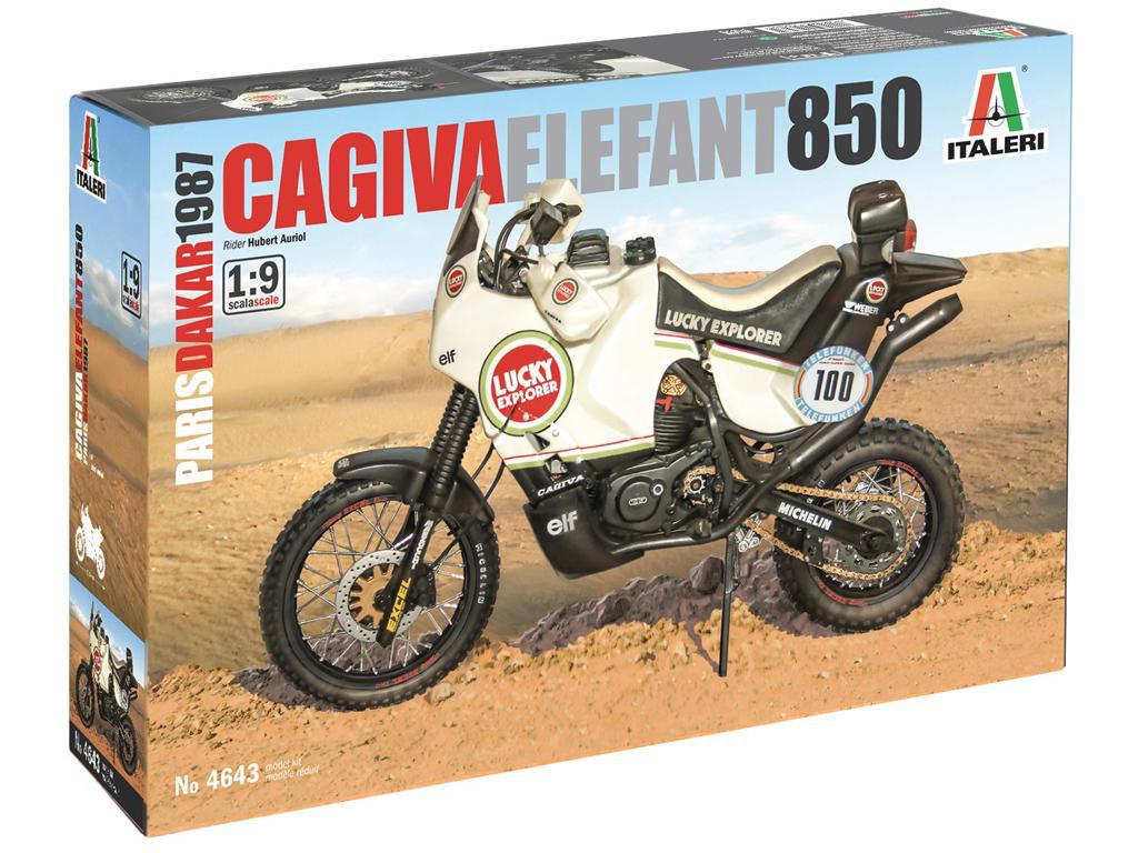 Cagiva Elefant 850 Paris-Dakar 1987 (Vista 1)