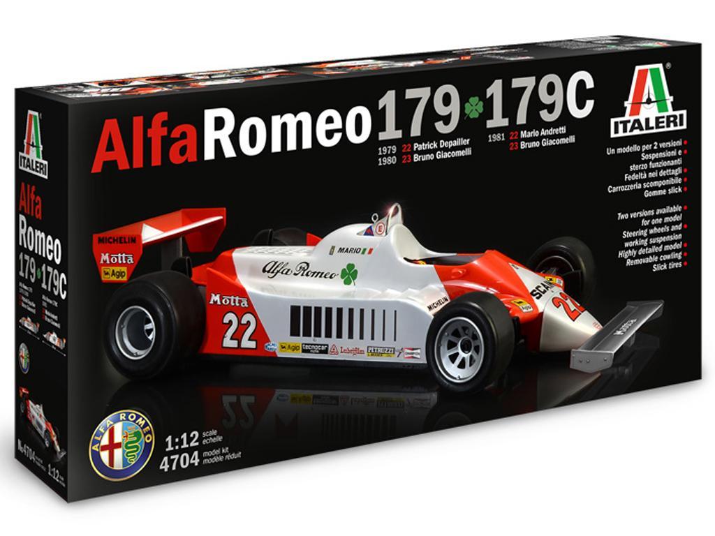 Alfa Romeo 179 / 179C (Vista 1)