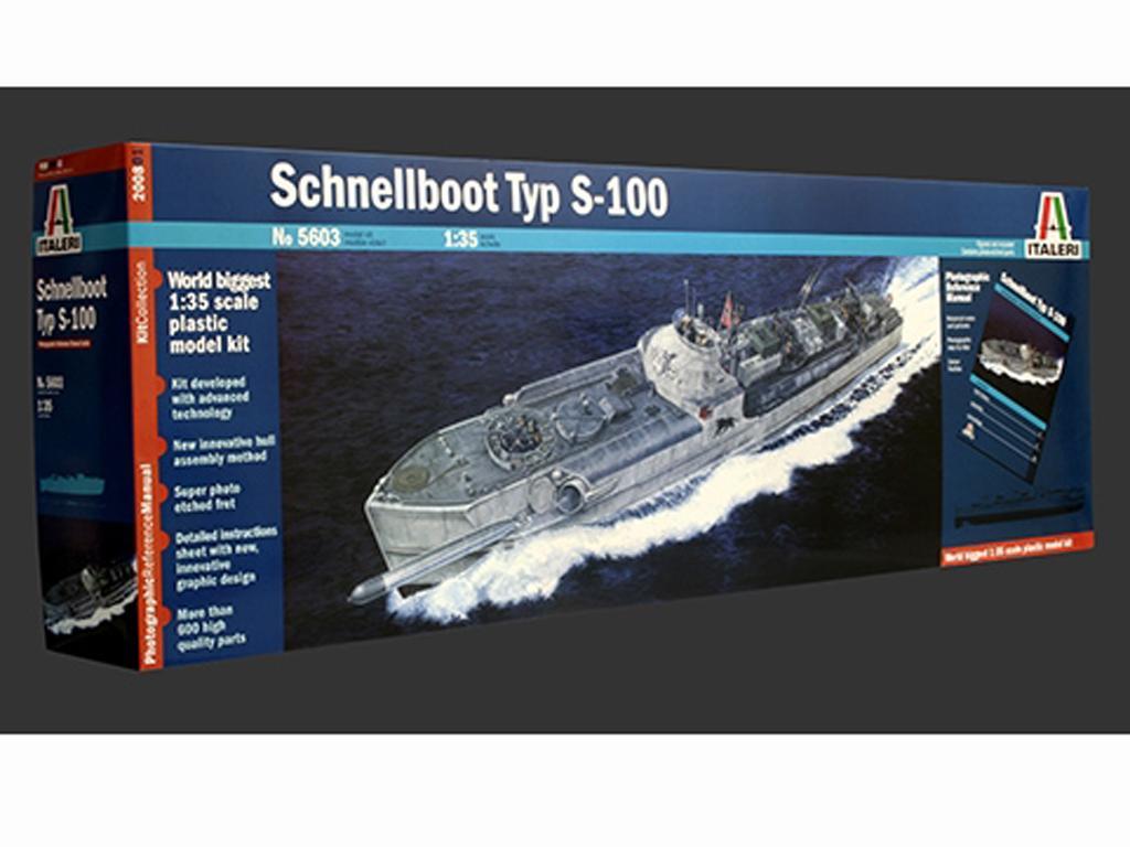 Lancha Torpedera Schnellboot S 100 (Vista 1)