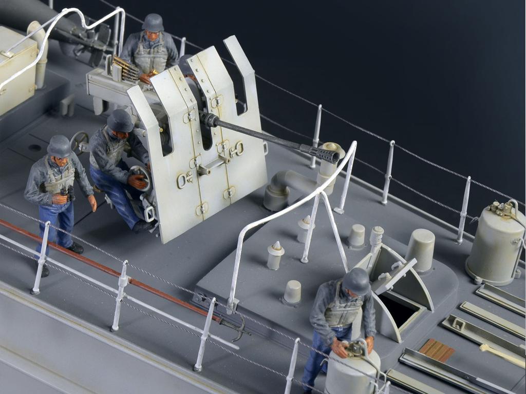 Lancha Torpedera Schnellboot S 100 (Vista 2)