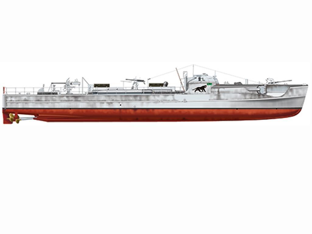 Lancha Torpedera Schnellboot S 100 (Vista 4)