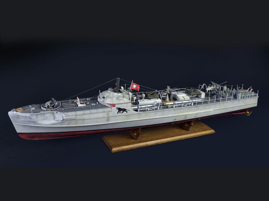 Lancha Torpedera Schnellboot S 100 (Vista 5)