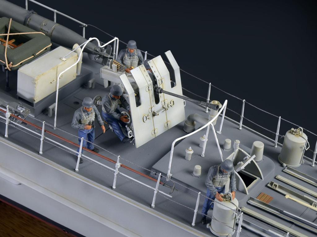 Lancha Torpedera Schnellboot S 100 (Vista 6)